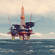 Oil Station In The Ocean - VideoHive Item for Sale