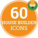 House Builder Equipment Construction Animation - Flat Icons and Elements