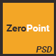 ZeroPoint - One Page Multipurpose PSD Template