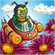 A Bee is Flying Car to Flowers.