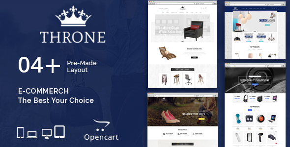 Throne - Multipurpose OpenCart Theme - Shopping OpenCart