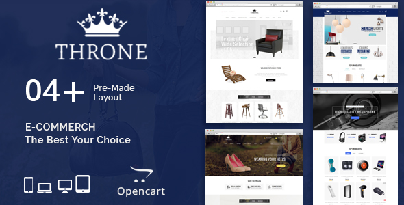 Throne - Multipurpose OpenCart Theme