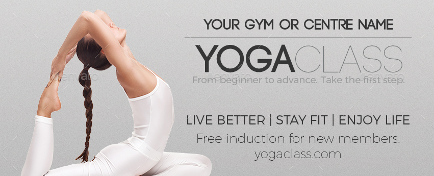 Yoga Flyer Template  Hlwhy