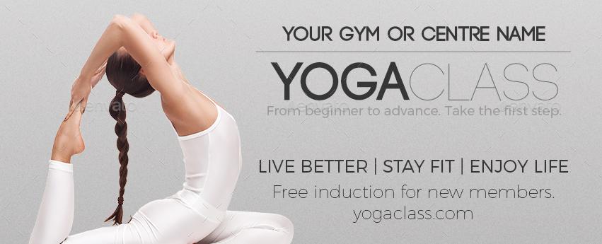 Yoga Flyer Template  Hlwhy