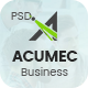 Acumec - Business Multipurpose PSD Template