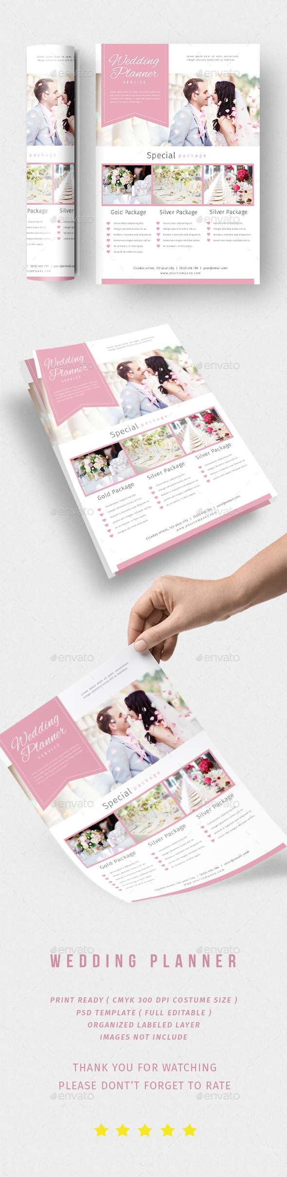 Wedding Planner - Flyers Print Templates