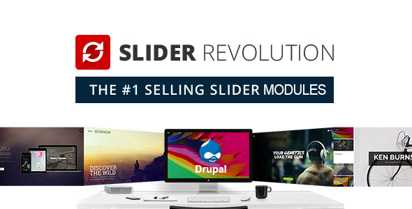CodeCanyon Slider Revolution Responsive Module For Drupal 8 20526486