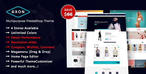 Image of Axon - Multipurpose Responsive Prestashop 1.7 Theme