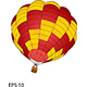 Hot Air Balloon Vector Illustration - GraphicRiver Item for Sale