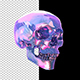 Glass Color Skull