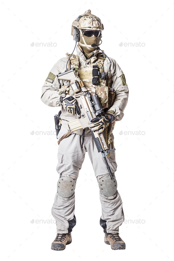 Army soldier of Special Operations Forces - Stock Photo - Images