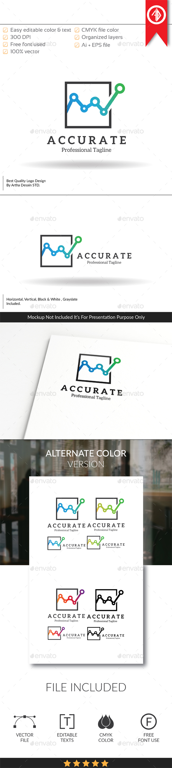 GraphicRiver Accurate Economics Logo Template 20526984