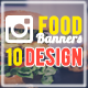 Food & Restaurant Banners - GraphicRiver Item for Sale