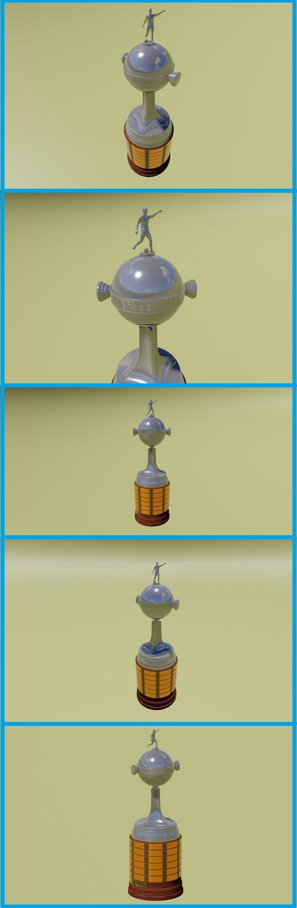 Copa Libertadores de América - 3DOcean Item for Sale