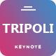 Tripoli Creative Keynote Template - GraphicRiver Item for Sale