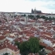 Aerial View of Prague, Bohemia, Czech Republic. Hradcany Is the Praha Castle with Hurches, Chapels - VideoHive Item for Sale