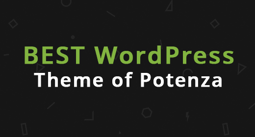 Best WordPress theme of Potenza