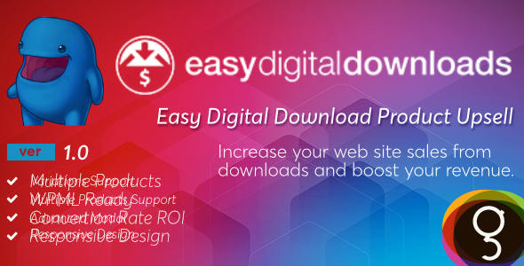 Easy Digital Downloads Product Upsells - CodeCanyon Item for Sale