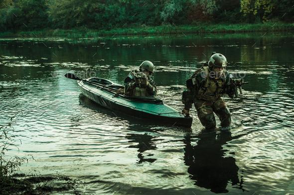 twilight covert operation - Stock Photo - Images