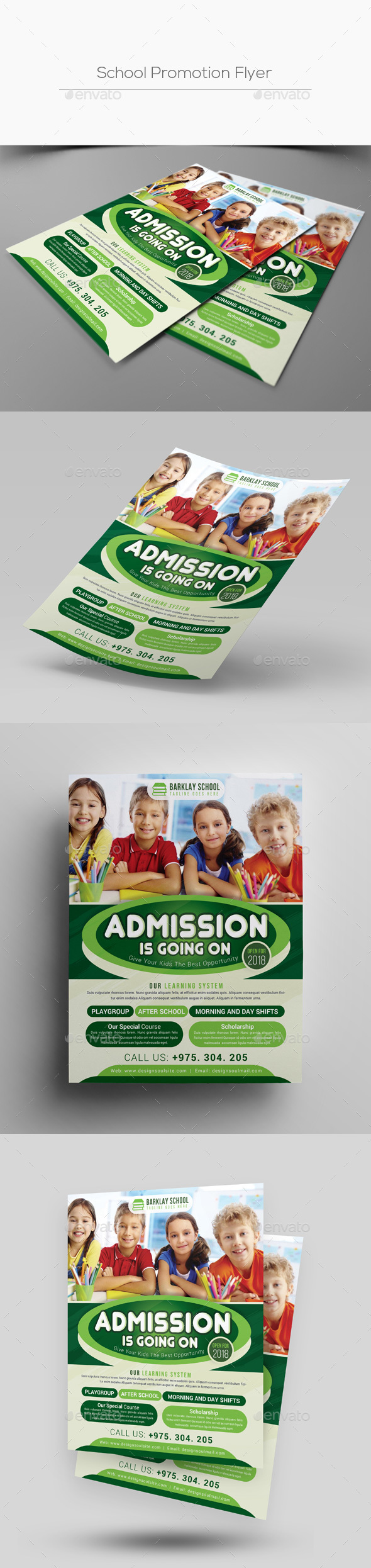 GraphicRiver School Promotion Flyer 20528121