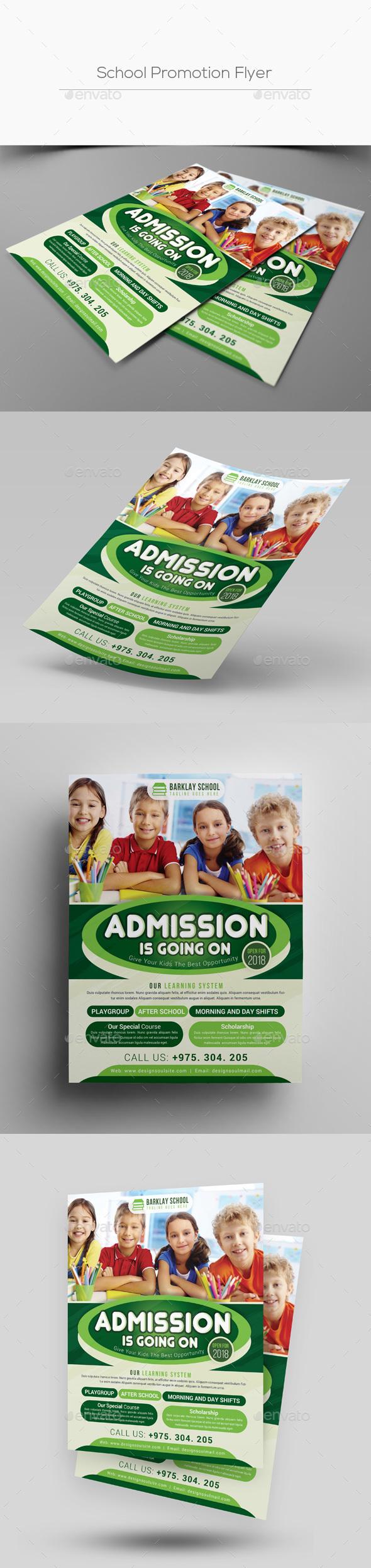 School Promotion Flyer - Corporate Flyers
