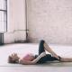 Beautiful Yoga Girl Doing Asanas in Studio - VideoHive Item for Sale