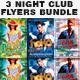 Night Club Flyers Bundle