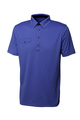 Golf blue tee shirt for man or woman