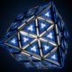 VJ Cyclic 3d objects - Cube Octahedron Sphere