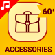 Clothes Accessories Icons Elements