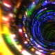 Neon Glitch Tunnel - VideoHive Item for Sale