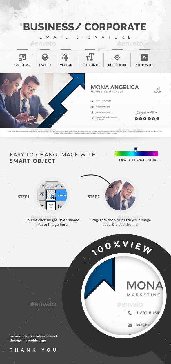 GraphicRiver Email Signature 20528568