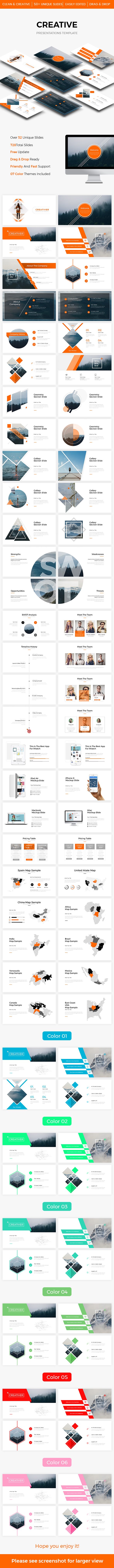 Creative Powerpoint Template 2017 - Creative PowerPoint Templates
