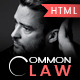 Common Law - Attorney & Lawyer HTML Template