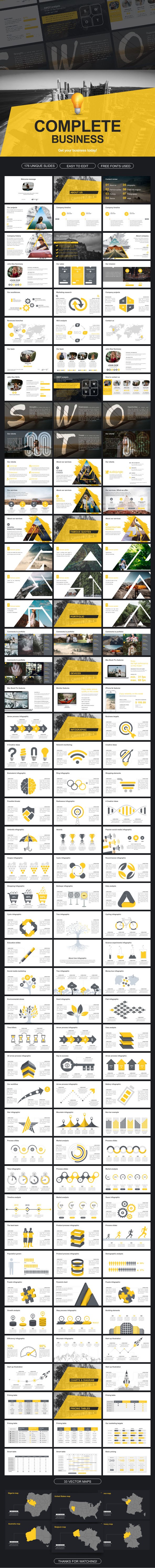 Complete Business Google Slides