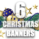 6 Christmas Banners - GraphicRiver Item for Sale