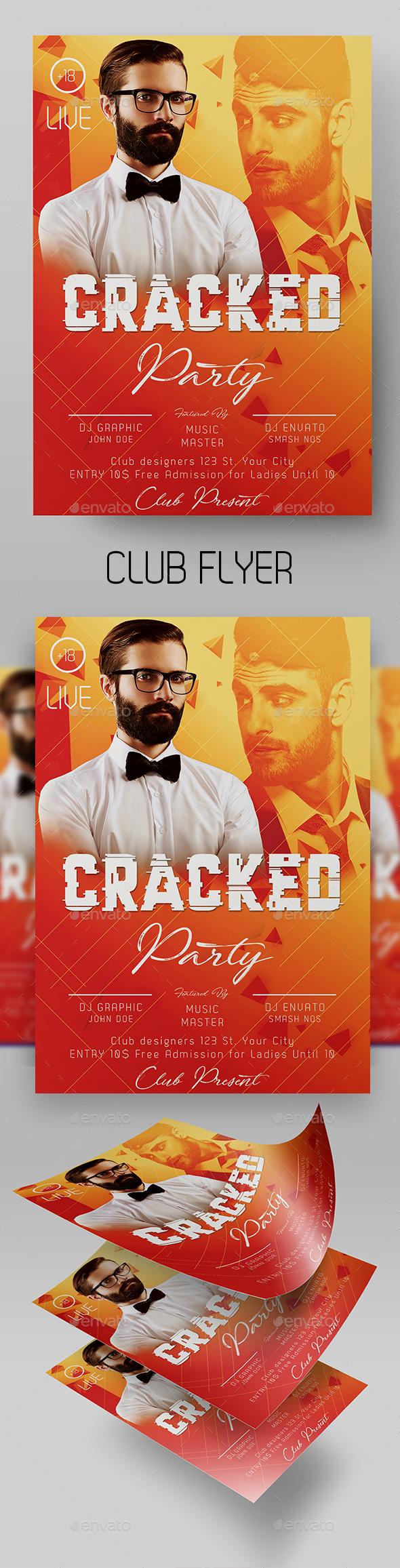 Guest DJ Flyer Template - Clubs & Parties Events
