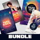 4 Event Flyers | BUNDLE 50% OFF