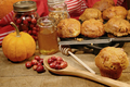 Freshly made pumpkin and berry muffins - PhotoDune Item for Sale