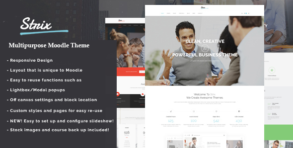 Download Strix - Modern Responsive Moodle            nulled nulled version