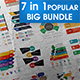 7 in 1 Big Bundle Popular Infographic - GraphicRiver Item for Sale