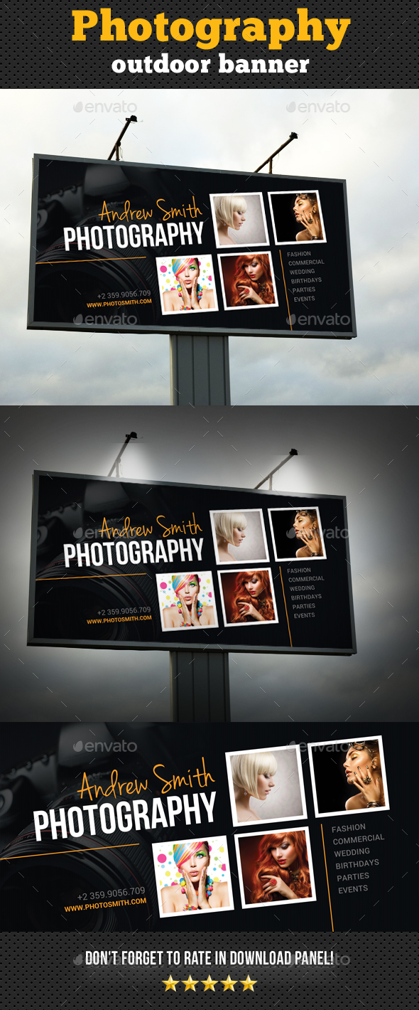 GraphicRiver Photography Outdoor Banner 20529092