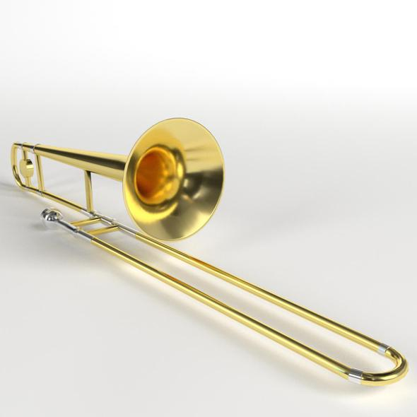 Trombone - 3DOcean Item for Sale