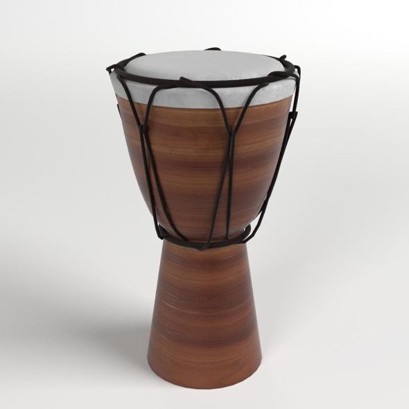 3DOcean Bongo Drum 20529432