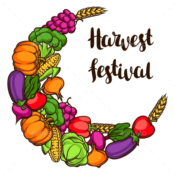 Harvest Decorative Element - Food Objects