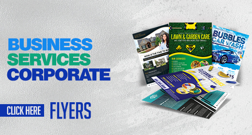 Business, Corporate, & Services  Flyer Templates