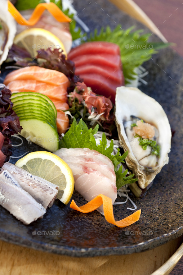 Japanese dish - Stock Photo - Images