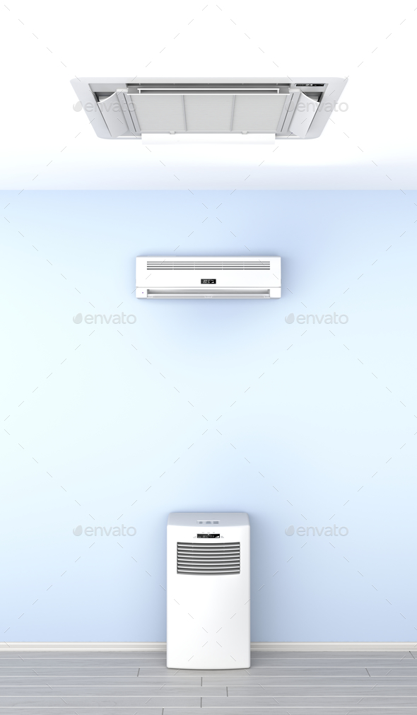 Air conditioners - Stock Photo - Images
