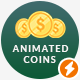 32 Animated Dollar Coins - VideoHive Item for Sale
