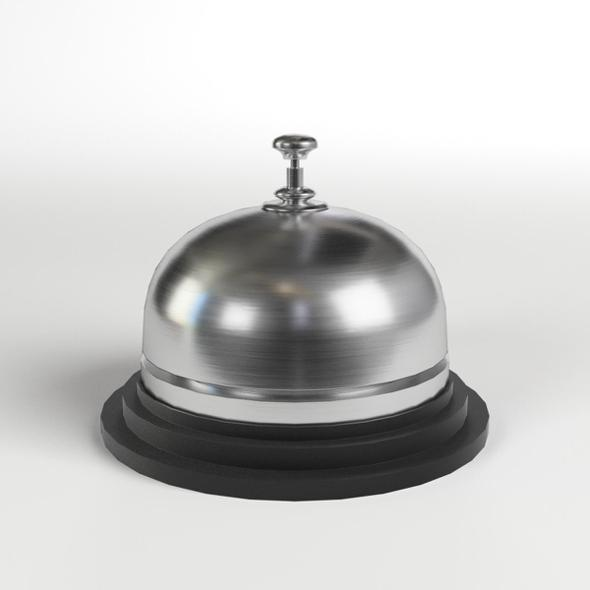 Reception Bell - 3DOcean Item for Sale